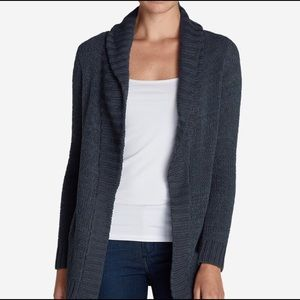 NWT Eddie Bauer Lounge Around Cardigan
